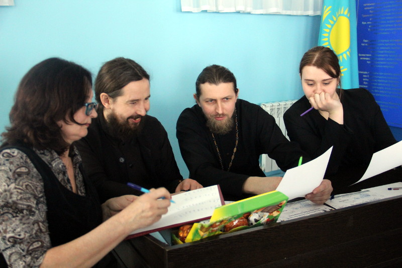 «День Космонавтики» в школе в честь прп. Сергия Радонежского
