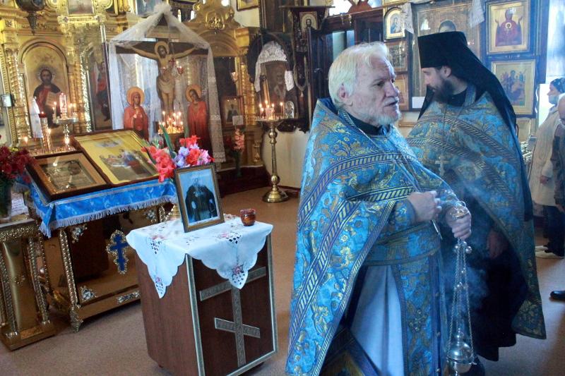 В Храме всех святых была совершена Лития по митрополиту Иосифу (Чернову)