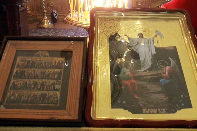В 17-ю Неделю по Пятидесятнице в храме Всех Святых была совершена Божественная Литургия