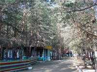 Молодёжный епархиальный лагерь «Имантау»