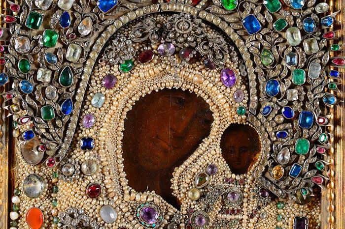 Чудотворная Казанская икона Пресвятой Богородицы