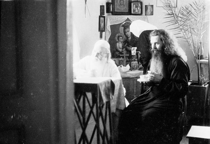 Старец Севастиан и отец Питирим