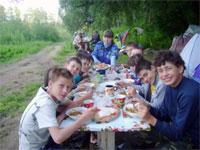 Рыбный лагерь