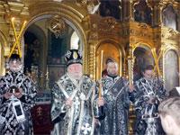 Пассию совершает епископ Гурий