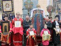 Святии Жены Мироносицы, молите Бога о нас!