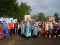 Крестный ход с чудотворной иконой Божией Матери Абалакская
