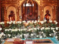 Служба погребения Пресвятой Богородицы