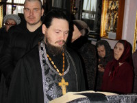 Чтение покаянного канона Андрея Критского в храме Всех Святых