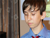Самтыков Денис, 9 класс